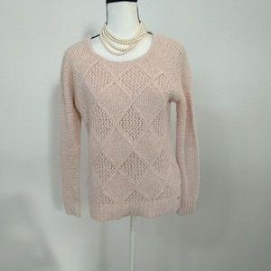 American eagle pink sweater size medium